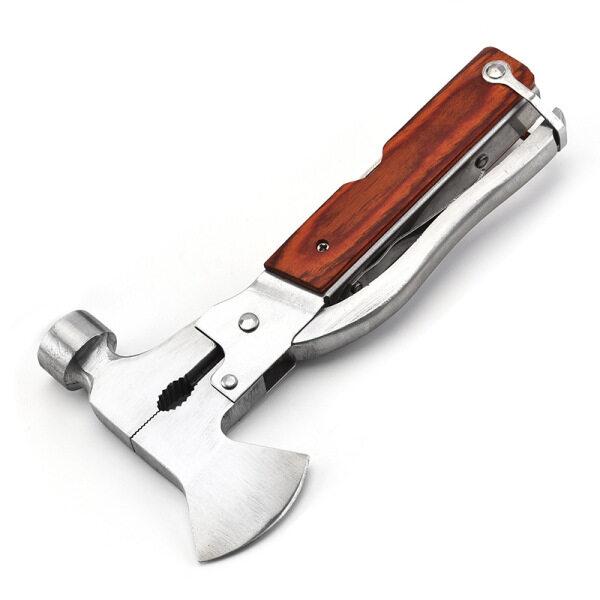 Đa chức năng thép không gỉ cuộc sống tiết kiệm búa xe thoát vỡ cửa sổ BÚA RÌU búa Claw hammer kết hợp công cụ