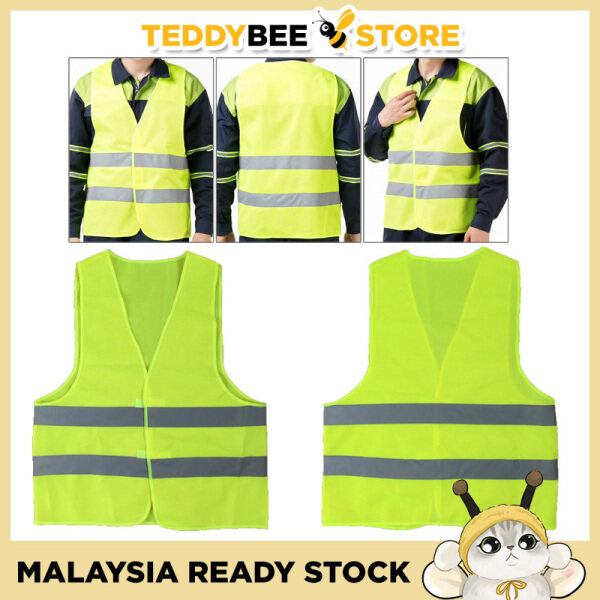 Reflective Warning Working High Visibility Protective Safety Vest Waistcoat Jacket Clothes