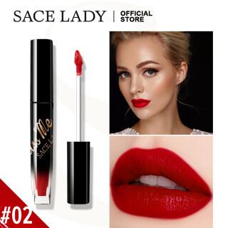 SACE LADY Lipstik Matte, Kosmetik Rias Wajah Matte Tahan Lama Warna Bibir & Pipi thumbnail