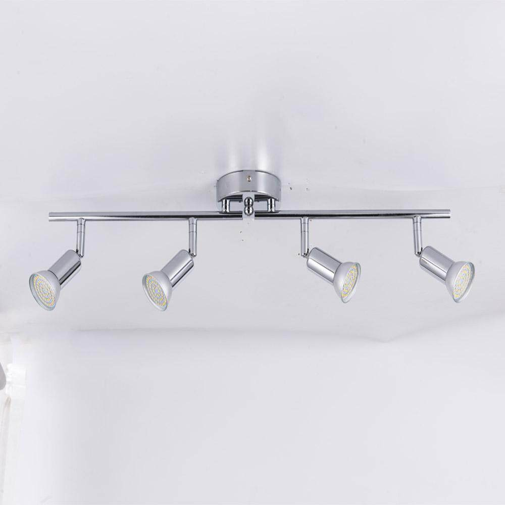 Ceiling Lights & Fans Showcase Black Led Track Light Luminaria Bar Exhibition Room Led Iron Ceiling Picture Light Exclusive Store Advertise Spotlight Attractive Fashion Lights & Lighting