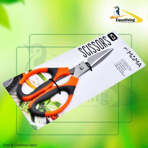 🔥Ready Stock🔥Kitchen Scissors 21.5 CM Sharp Scissors / Gunting dapur