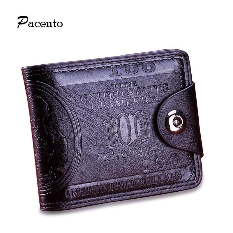 7cf827191b2e Men Fashion Wallet with THE UNITED STATES Letters Hot Sale Brand Hasp Wallet  Male Wallet Slim