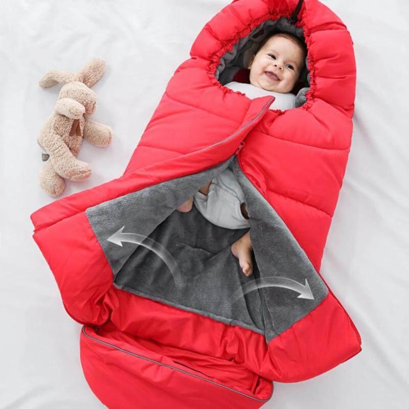 Baby Sleeping Bag Winter Thickened Children Anti-kicking Stroller Sleeping Nest Singapore