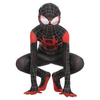 Bộ trang phục áo liền quần hoá trang người nhện cho trẻ em (có nhiều kích thước khác nhau) - INTL thumbnail