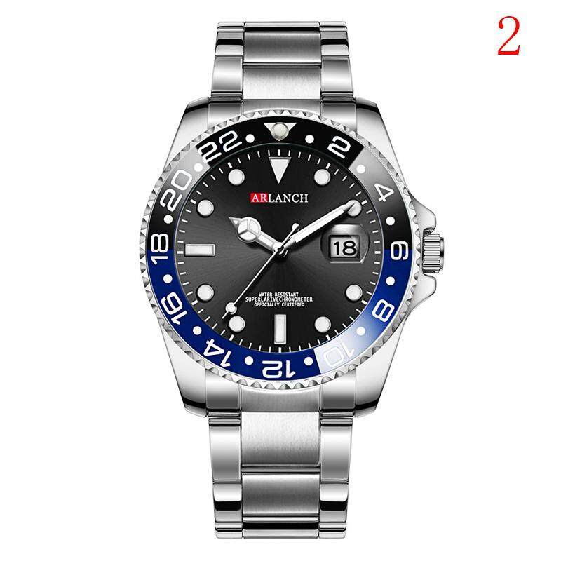 Mecola Stainless Steel Luxury Men Fashion Military Army Analog Sport Quartz Wrist Watch Malaysia