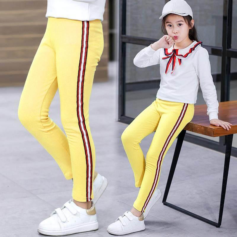 5607f4132998 ❤️Cutiebaby Autumn Girl Trousers Kids Sports Pants Leisure Casual Leggings  Long Pants