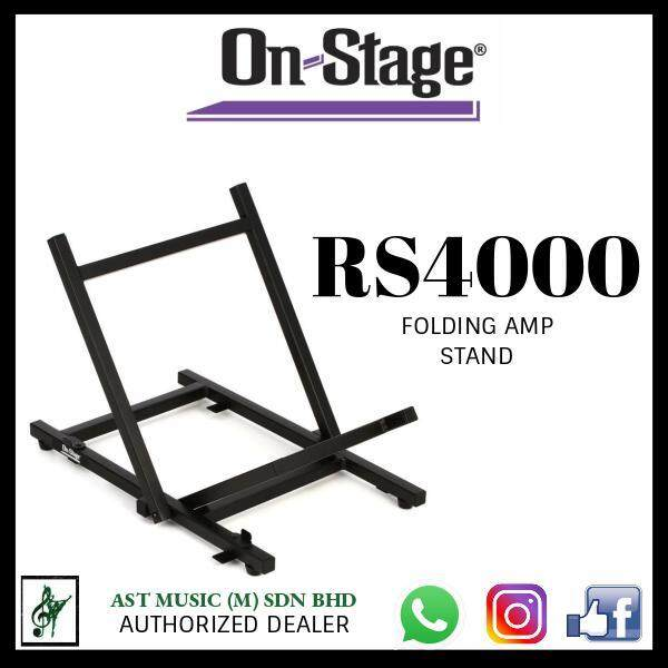 On Stage RS4000 Foldable Tiltback Amp Stand Malaysia