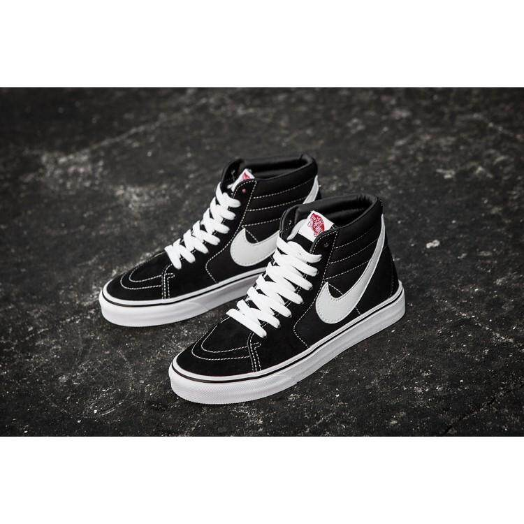 31f41e1e8b68 Vans Shoes Women High Top Black And White price in Singapore