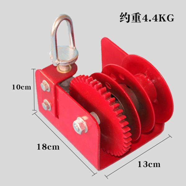 Manual winch, self-locking, hand-operated lever, winch, traction, small winch, hoist, hoist, hoist, hoist