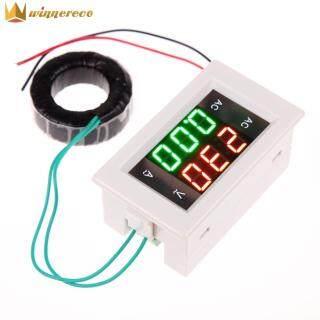 AC Kỹ Thuật Số Ampe Kế, Vôn Kế Bảng Điều Khiển LCD Ampe Kế, 100A 60-500V thumbnail
