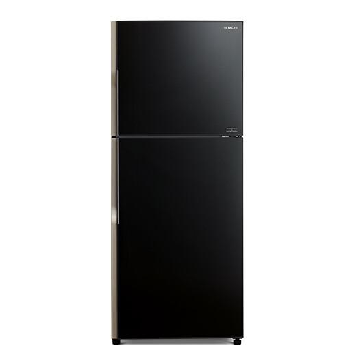 HITACHI R-VG420P8M GBK New Stylish Line Glass Series 375L inverter Refrigerator