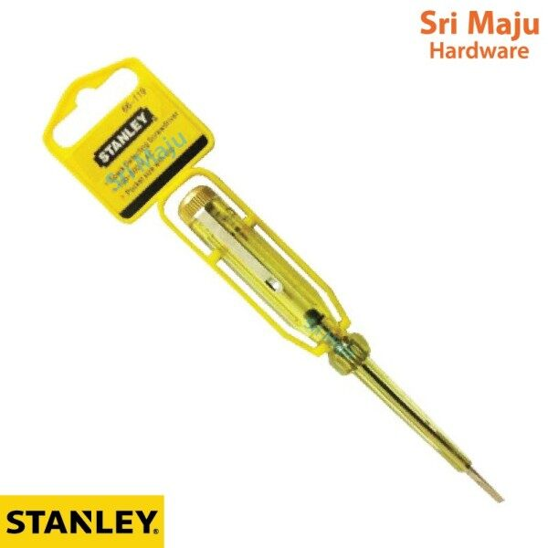 MAJU Stanley 66119 Test Pen Spark Detecting Screw Driver Screwdriver Testpen Alat Penguji Arus Bekalan Elektrik 66 119