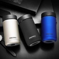 ONEISALL – Bình giữ nhiệt đựng nước bằng thép không gỉ Mini Thermos – Dung tích 400ml – Nặng 270g