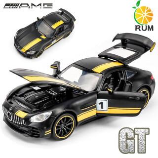 RUM Xe Đúc Đồ Chơi Âm Thanh & Đèn Mô Hình Xe Hơi Hợp Kim 1 32 Benz AMG GT Cho Bé Trai Đồ Chơi Cho Trẻ Em Chàng Trai Quà Tặng Đồ Chơi Trẻ Em thumbnail