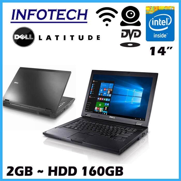Dell Latitude E5400 intel Core 2 Duo 2.0ghz 2gb ram 160gb hdd laptop notebook ( refurbished ) Malaysia