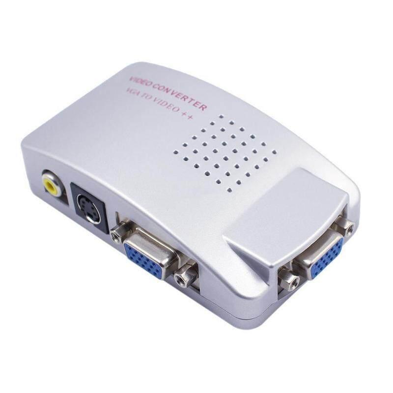 Bảng giá VGA Sang TV RCA Composite S-Video AV USB Cáp Hộp Chuyển Đổi Dành Cho Máy Tính Laptop Phong Vũ