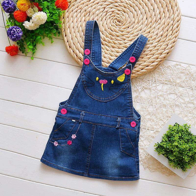 a478510dae308 IENENS Summer Kids Baby Girls Jeans Skirts Dress Children Clothes Toddler  Infant Girl Denim Clothing Dresses Jumper Skirt 1 2 3 Years