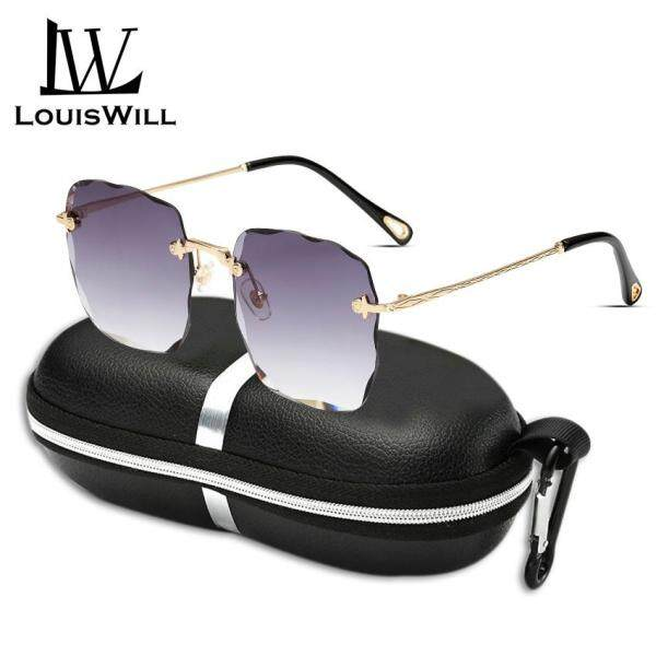 Giá bán LouisWill Mắt Kính Tráng Gương Phân Cực Thời Trang Nữ Kiểu Dáng Cổ Điển