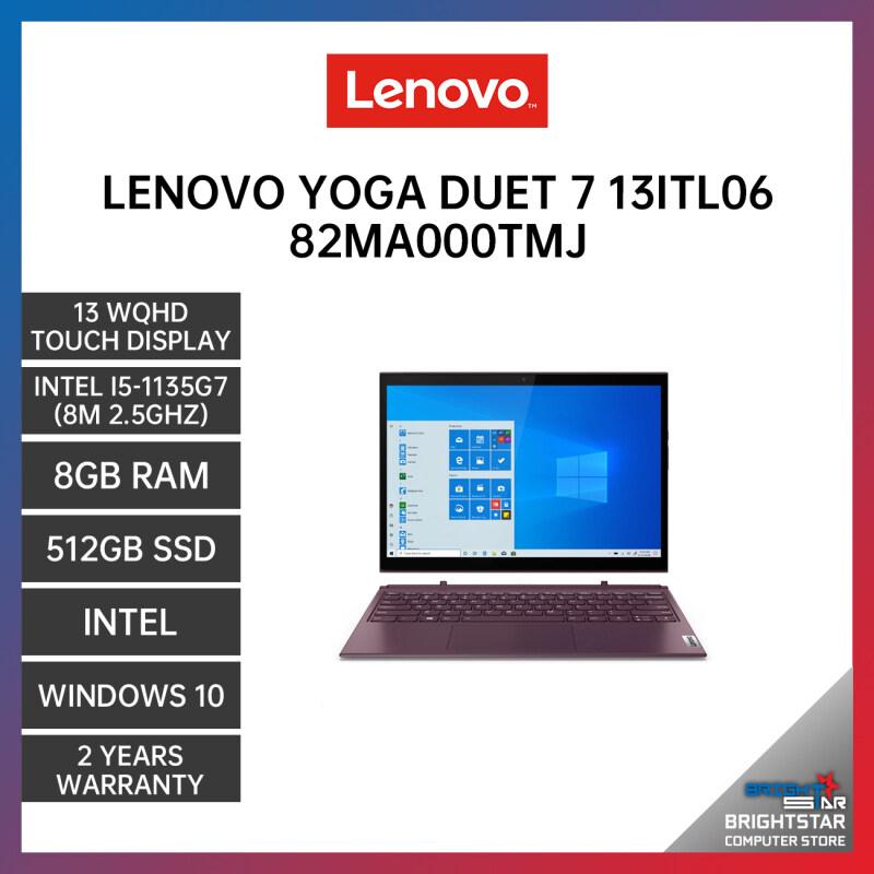 Lenovo YOGA Duet 7 Laptop (13 Inch WQHD Touch Screen | Intel Core | I5-1135G7 (8M 2.5GHZ) | 8GB RAM | Intel Graphic | Windows 10 | 2 Years Warranty) Malaysia