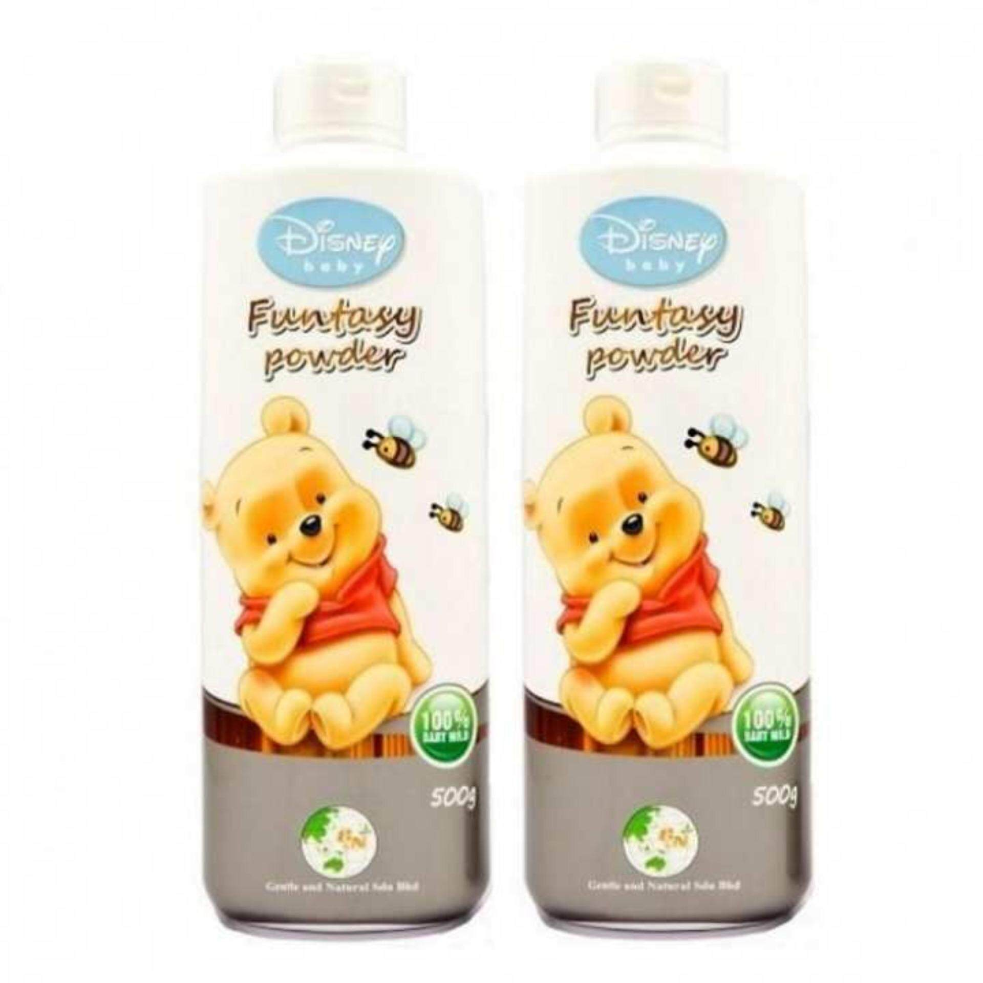 Disney Baby Twin Pack Funtasy Powder 500g - Winnie The Pooh By Komic.