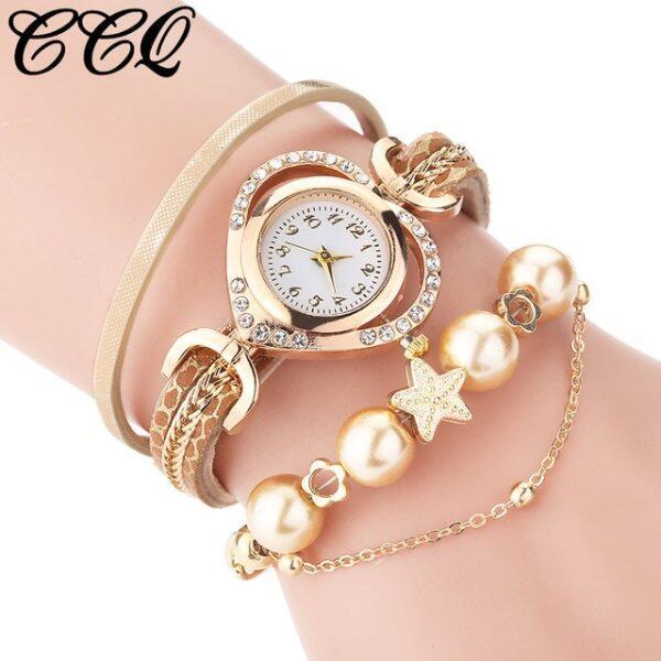 Brand Watches For Women Luxury Bracelet Analog Quartz Watch Owl Pendant Ladies Dress Bracelet Watches Wristwatch Zegarek Damski Malaysia