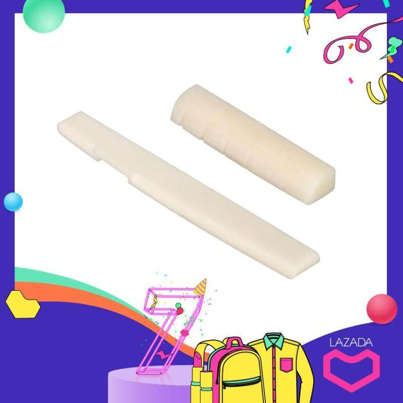 Ivory Bone Bridge Saddle And Nut For Acoustic Guitar Guitar Accessory Replacement Malaysia