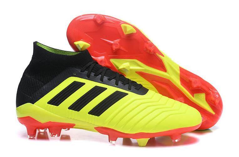 Adidas Official Football MEN Soccer Shoes Predator 18 Global Sales  Size 40-45 066c8b16dd5f6