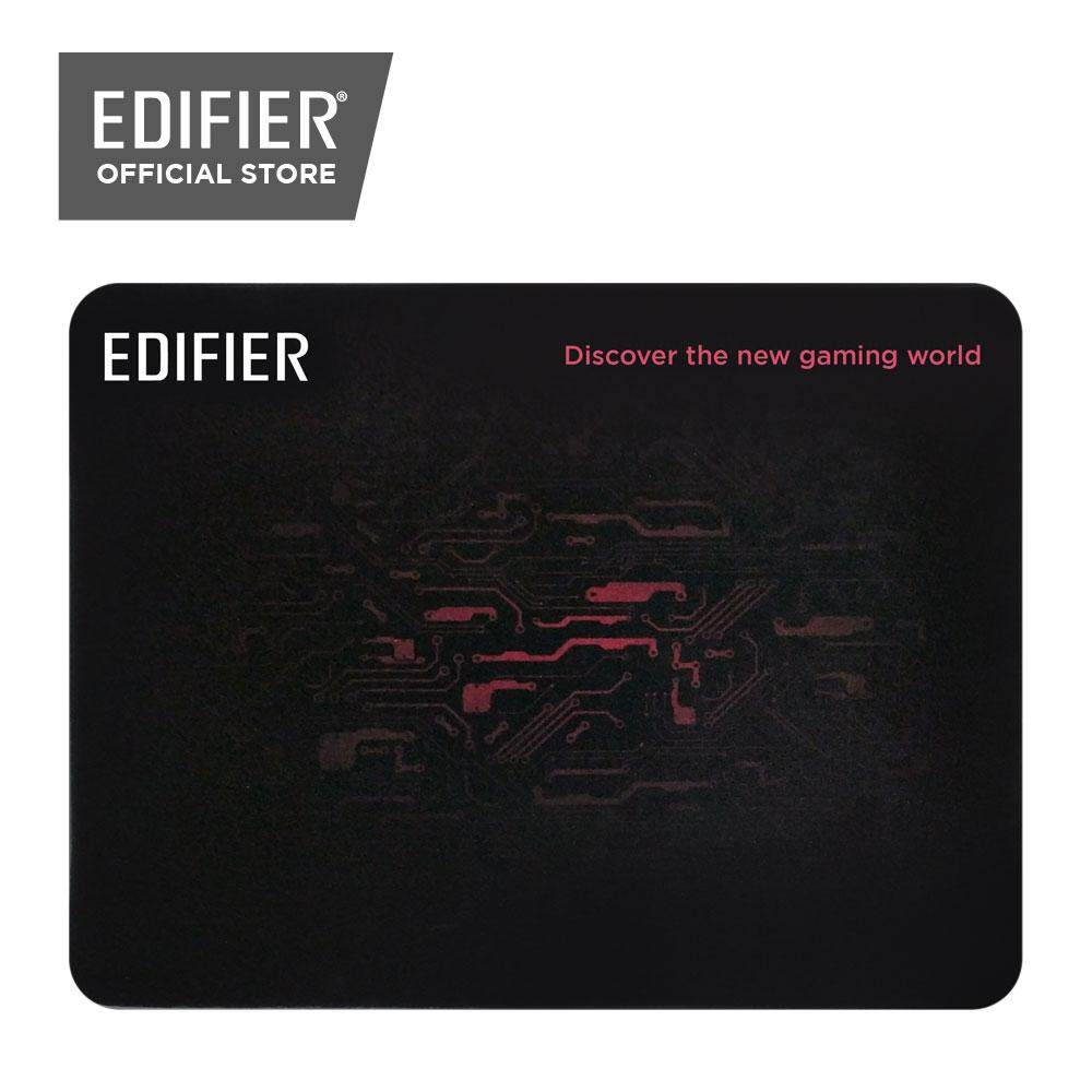 Edifier Gaming Mousepad - Fabric Gaming surface with 3mm thick high quality rubber anti-skid base . Malaysia