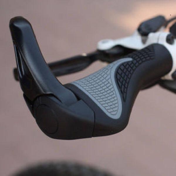 Trợ lý kiểu xe đạp kiểu mới mặt nạ kiểu phó nắm đấm sừng cừu, bọc phụ tùng xe đạp trang bị xe đạp