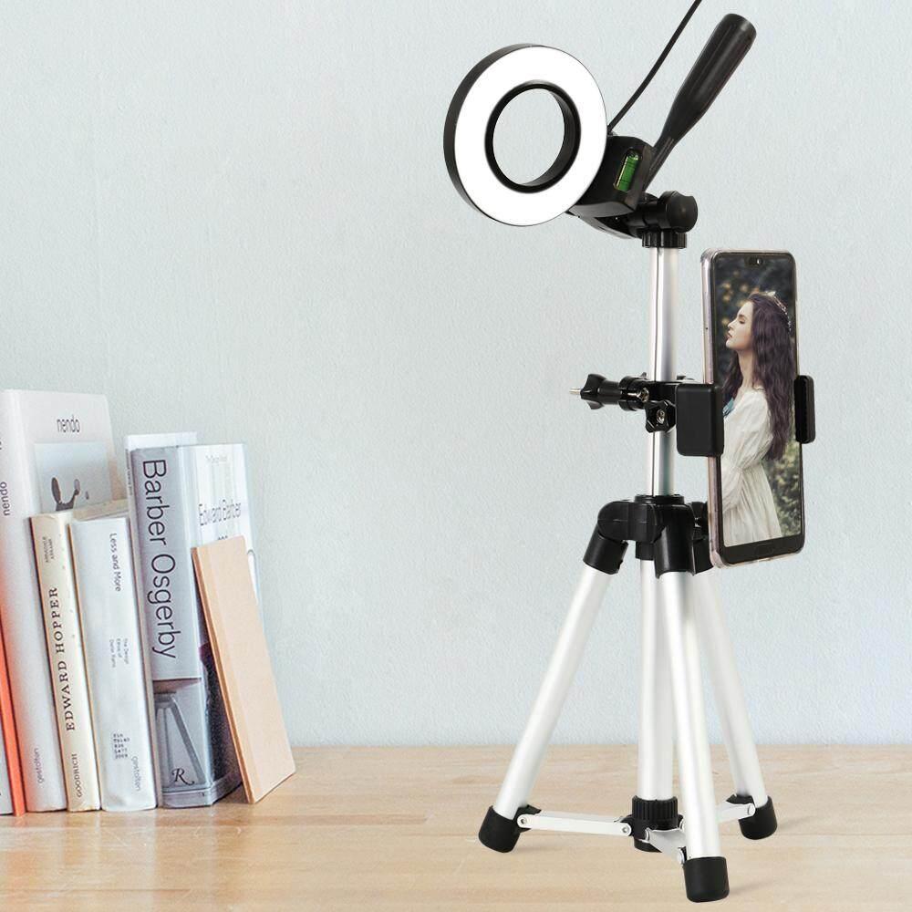 Camera Photo Studio โทรศัพท์วิดีโอ Led แหวนความงาม Light ห่วงหรี่แสง + ขาตั้งกล้อง By Smileface.