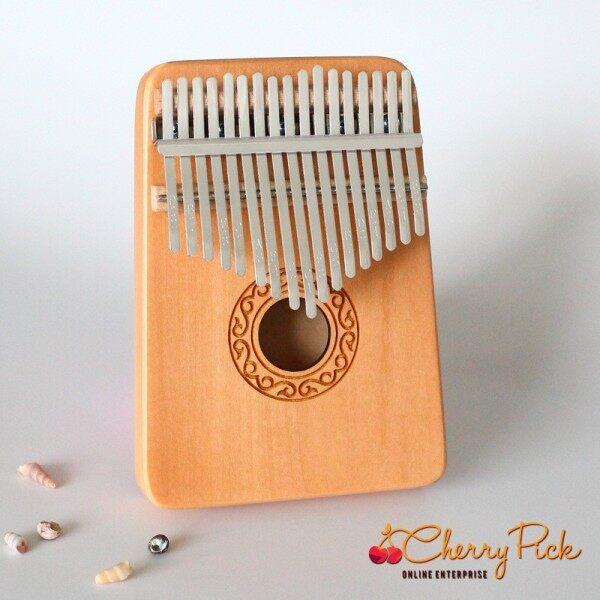Ready Stock Malaysia Kalimba 17 Key Thumb Piano Wood and Acrylic Kiss Kalimba Malaysia