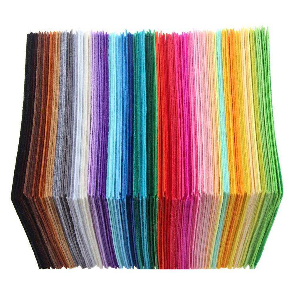40pcs Non-Woven Polyester Colorful Cloth Diy Crafts Felt Fabric Sewing Accessories By Chinatera Official Store.