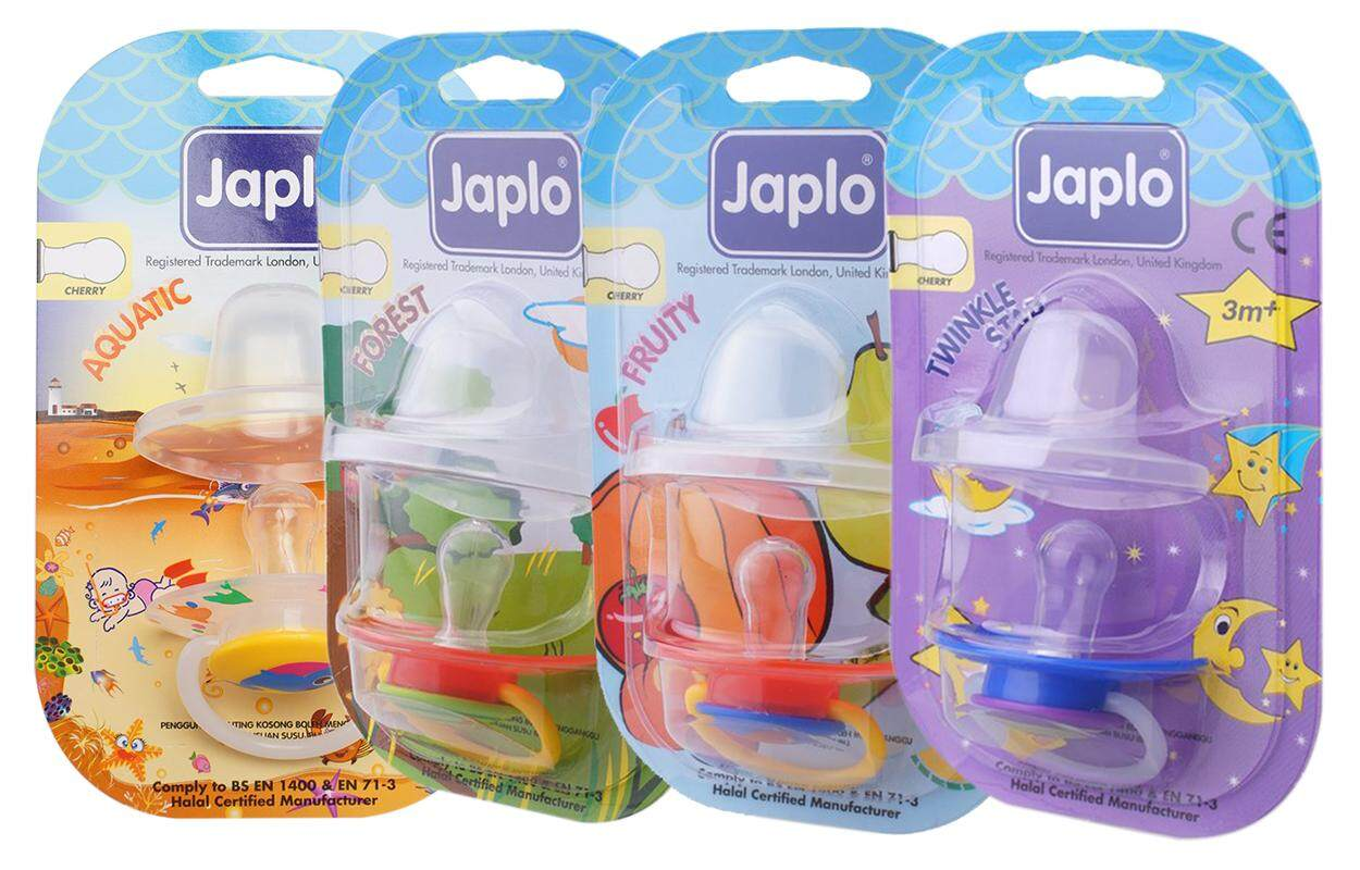 JAPLO Baby Soother Cherry Series (3 months+) X 4 units