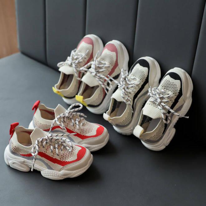 Giày Chạy Tiantian Cho Trẻ Em, Giày Thể Thao Đi Bộ Đế Mềm Dạng Lưới Ở Nhà giá rẻ