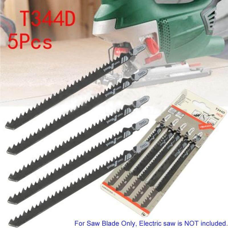 COOLCOOK 5pcs Set 6 T T-Shank Jigsaw Blades For Wood Plastics Cutting Fast Cutting Tools