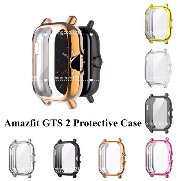 Ready stock Amazfit GTS2 GTS2e mini TPU full soft silicone display frame protective case GTS 2 2e protector watch cover Malaysia