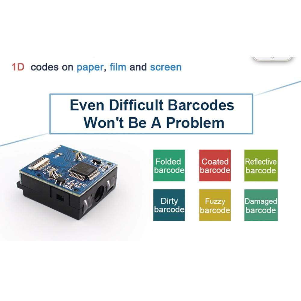 YK/&SCAN YK-E1005 1D CCD Barcode Scanner Reader Scan Engine module High Quality