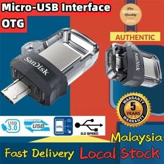 Sản Phẩm Chính Hãng + Miễn Phí + COD Ổ Flash USB Ổ Đĩa Bút OTG Kép 128GB 64GB 32GB 16GB Đĩa U Bộ Nhớ Tốc Độ Cao Thẻ Micro USB3.0 SDDD3 Cho Máy Vi Tính Và Thiết Bị Android thumbnail