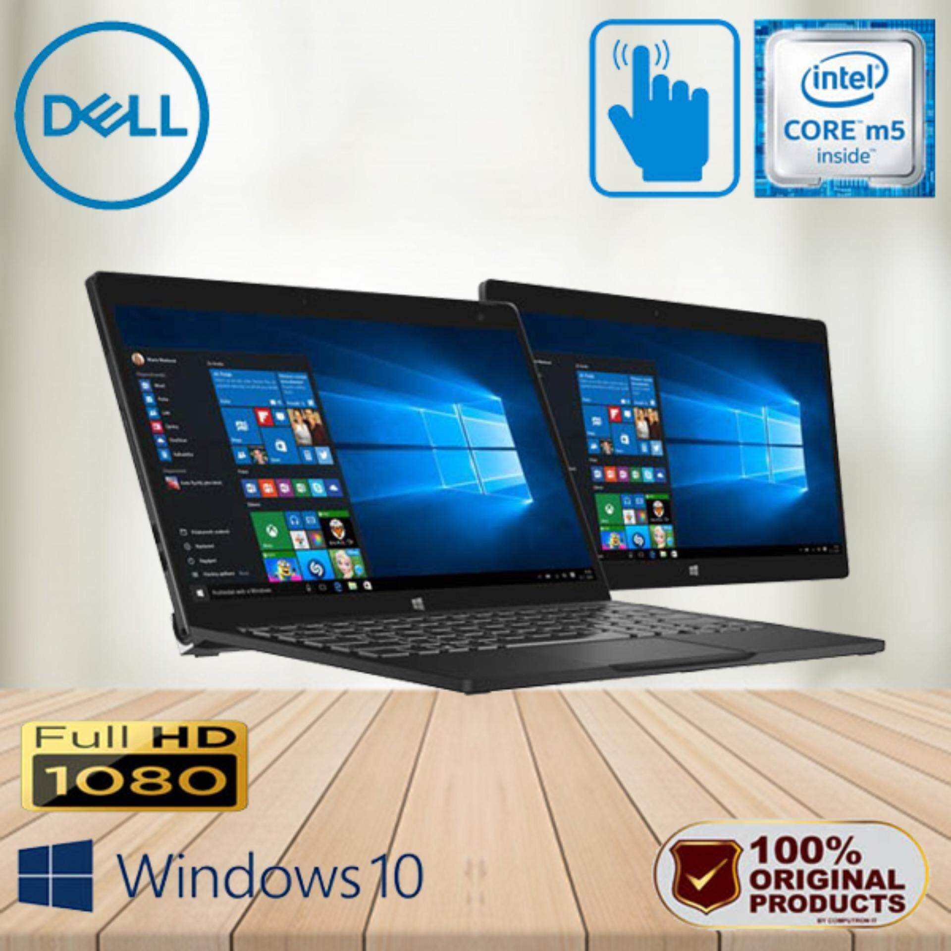 Dell Latitude Ultrabook 7275 Fhd Touchscreen Surface [core M5 6th Generation] 1 Years Warranty By Computron It Market.