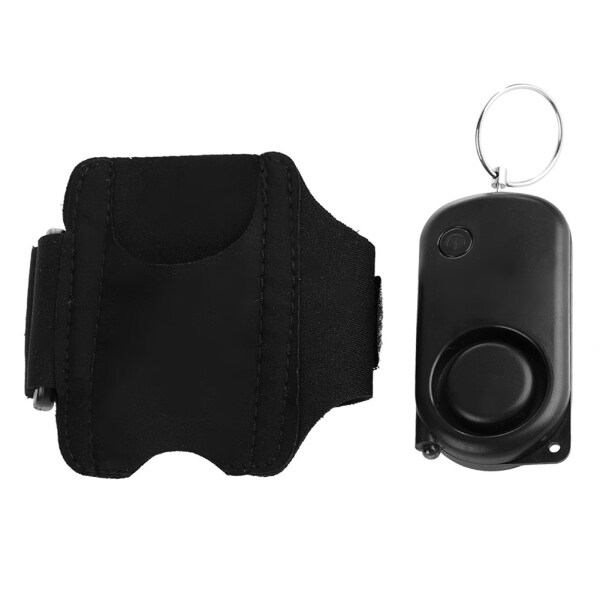 Rolan 120dB Personal Security Alarm Anti-Wolf Device Protection Alarm Armband Ring with LED