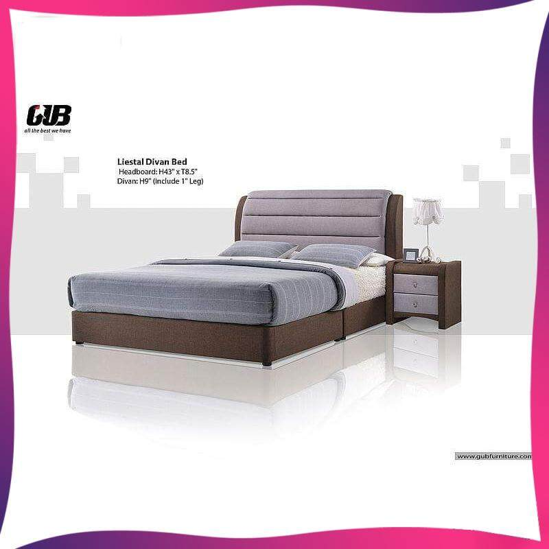 Tucson Divan Bed Frame Swiss Foundation Bedframe By Decowood.