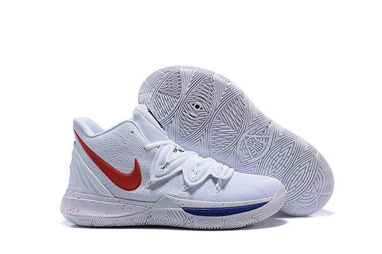 quality design c0d19 0c4d5 Brand Nik Official Kyrie Irving 5 Blue White Men Basketaball Shoe Uncle  Drew Global Sales