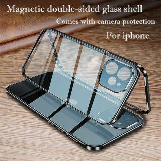 Ốp Lưng Bảo Vệ Toàn Bộ HOCE 360 Ốp Mini Cho iPhone 12 11 Pro Max Dành Cho iPhone XR X XS Max, Ốp Từ Tính Bảo Vệ Kính Bằng Kim Loại Cho Máy Ảnh thumbnail