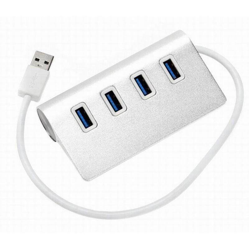 Best Sellers U3HB24 5Gbps USB 3.0 HUB Adapter Splitter with Micro USB Power Port Computer