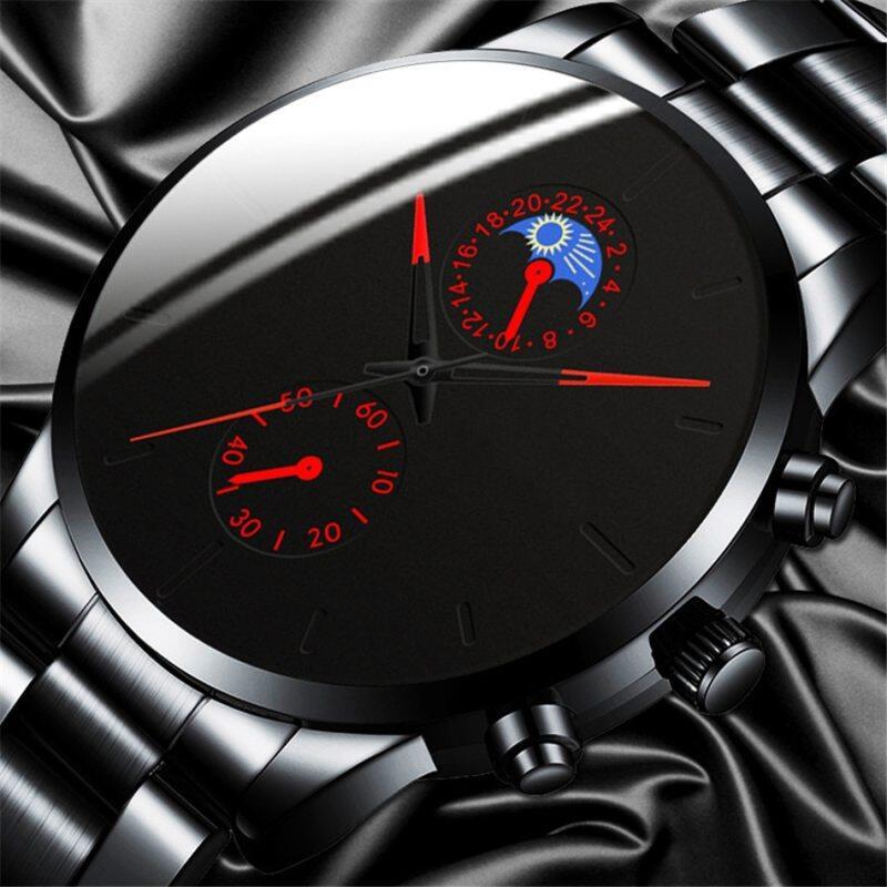 POSHI Fashion Mens Watches Top Brand Luxury Watch For Man Classic Black Luminous Pointer Waterproof Watches Jam Tangan Lelaki Malaysia