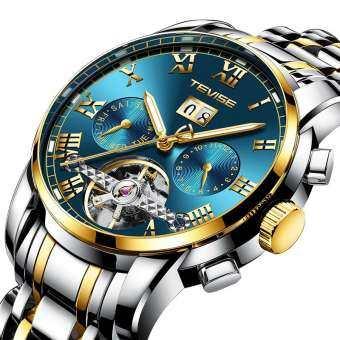 2019 TEVISE ผู้ชายนาฬิกาRelógio Automatico วิศวกรรมนาฬิกาผู้ชายธุรกิจกันน้ำโครงกระดูก T Ourbillon อัตโนมัตินาฬิกา Masculino