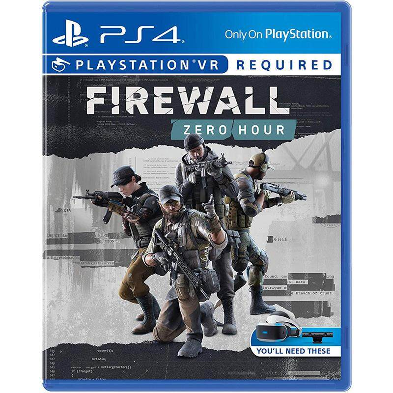 PS4 VR game firewall desperate moment zero action Chinese English light shot with bundled version