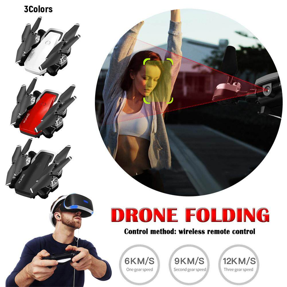 Drone 20 Minutes Long Battery Life Drone Folding 5MP Camera + Wifi  Real-Time Transmission + 360° Rotation+ Gesture Video+Height Set Mode+  Headless