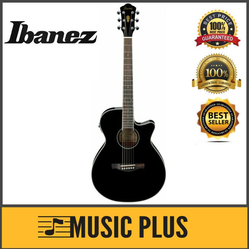 Ibanez AEG8E - Black High Gloss (AEG8E-BK) Malaysia