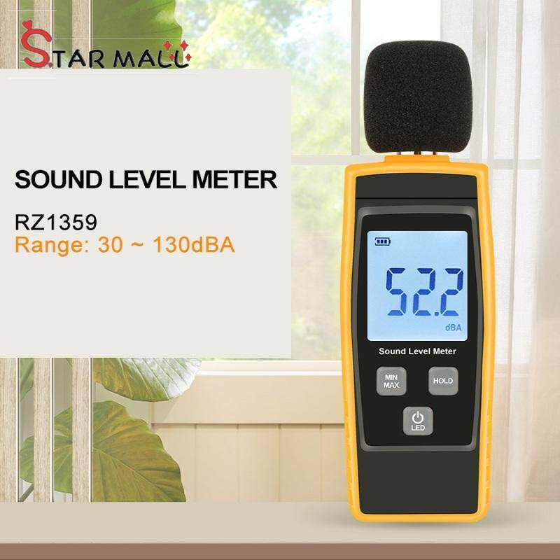 Star Mall Digital Sound Level Meter DB Meters Noise Tester in Decibels LCD Screen